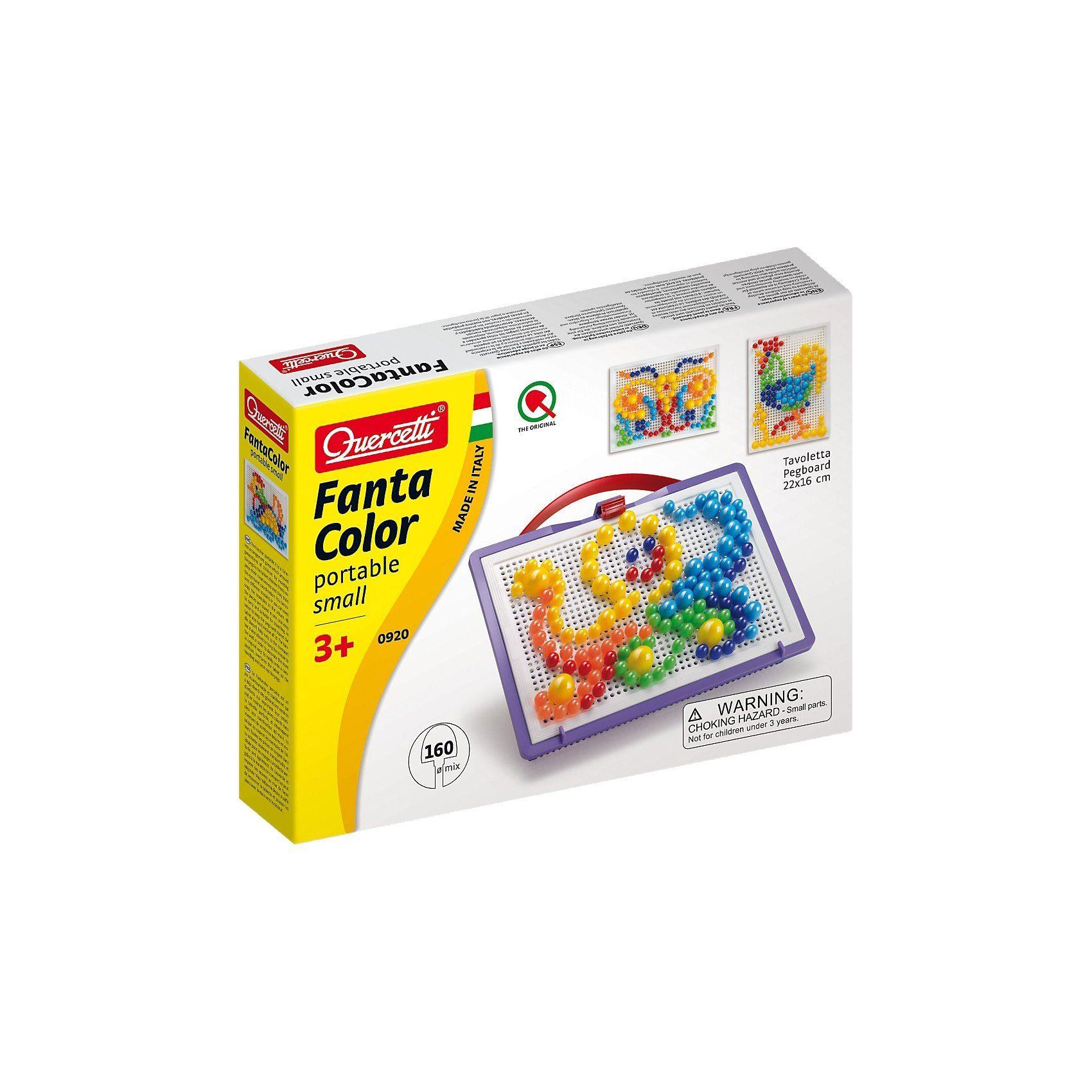 Quercetti Fanta Color Reiseset, 160-tlg.