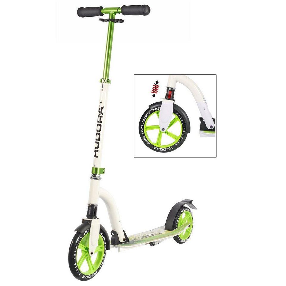 Hudora Scooter Bold Wheel Cushion, grün in grün