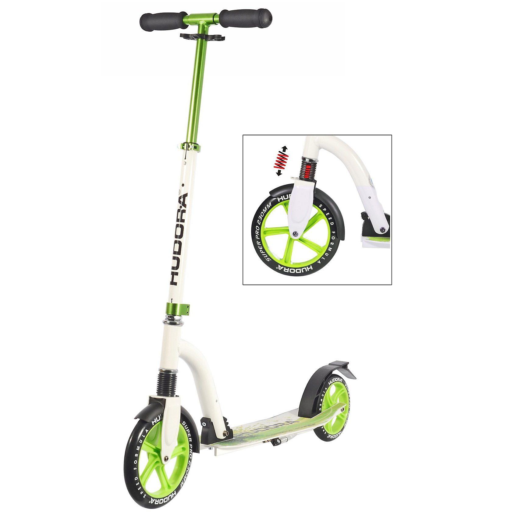 Hudora Scooter Bold Wheel Cushion, grün