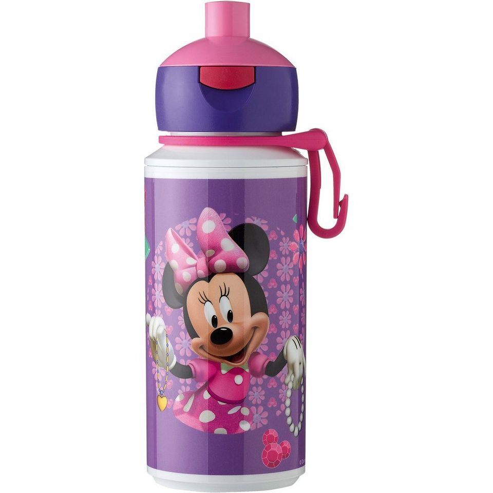 Trinkflasche Campus pop-up Minnie Mouse, 275 ml in lila