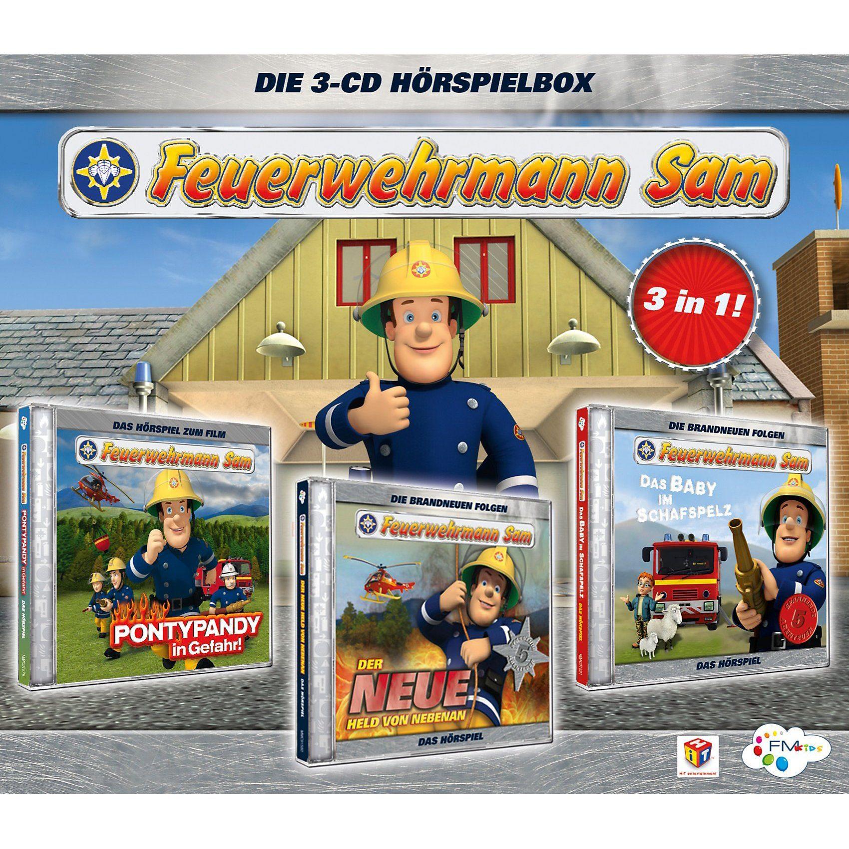 Just Bridge Entertainment CD Feuerwehrmann Sam Box 01