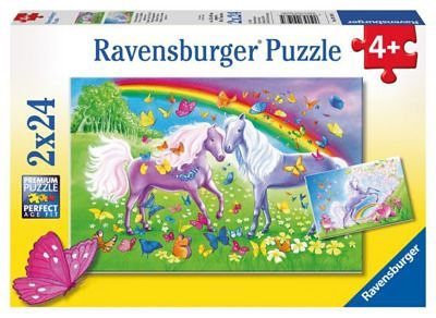 Ravensburger Regenbogenpferde Puzzleset 2 x 24 Teile
