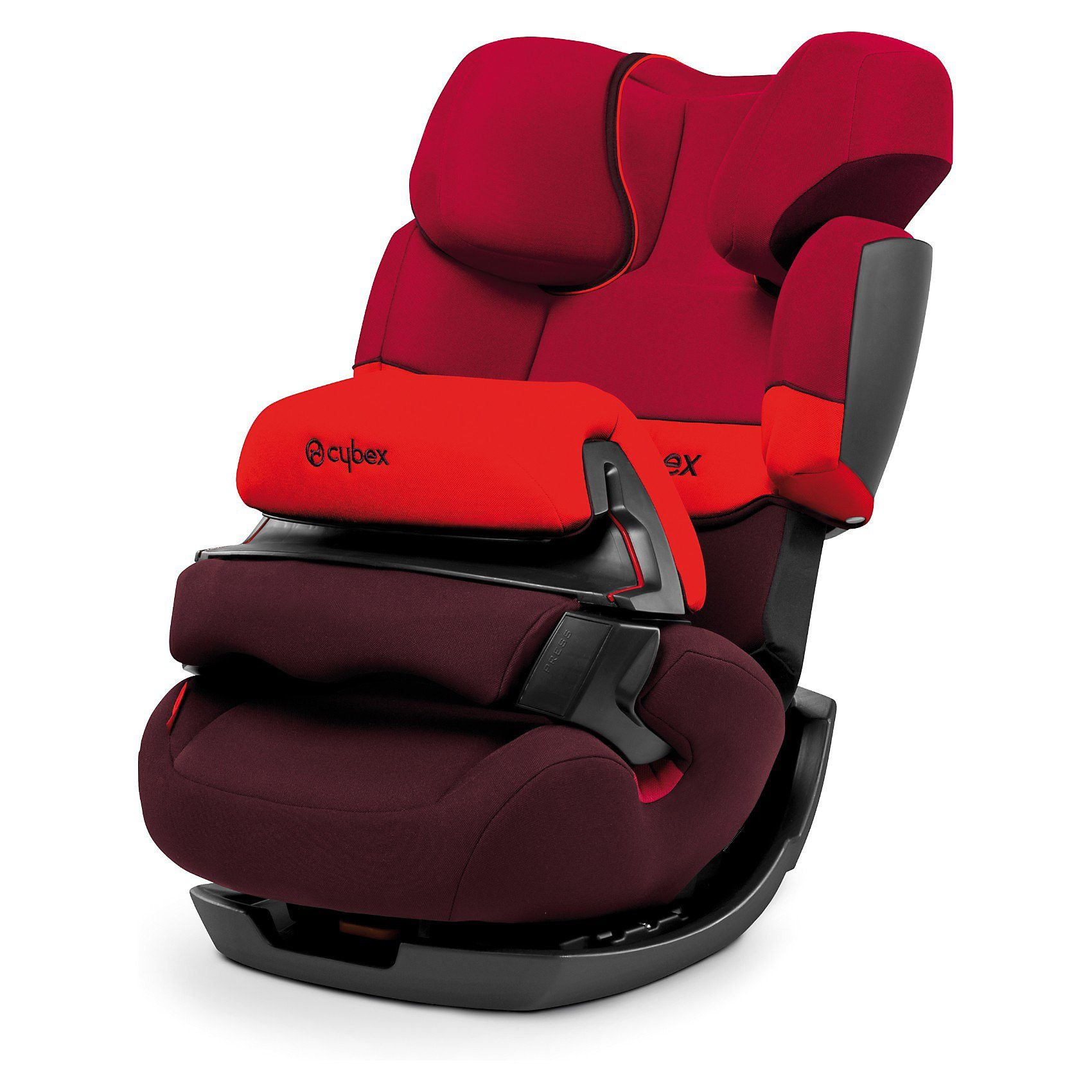 Cybex Auto-Kindersitz Pallas, Silver-Line, Rumba Red, 2017
