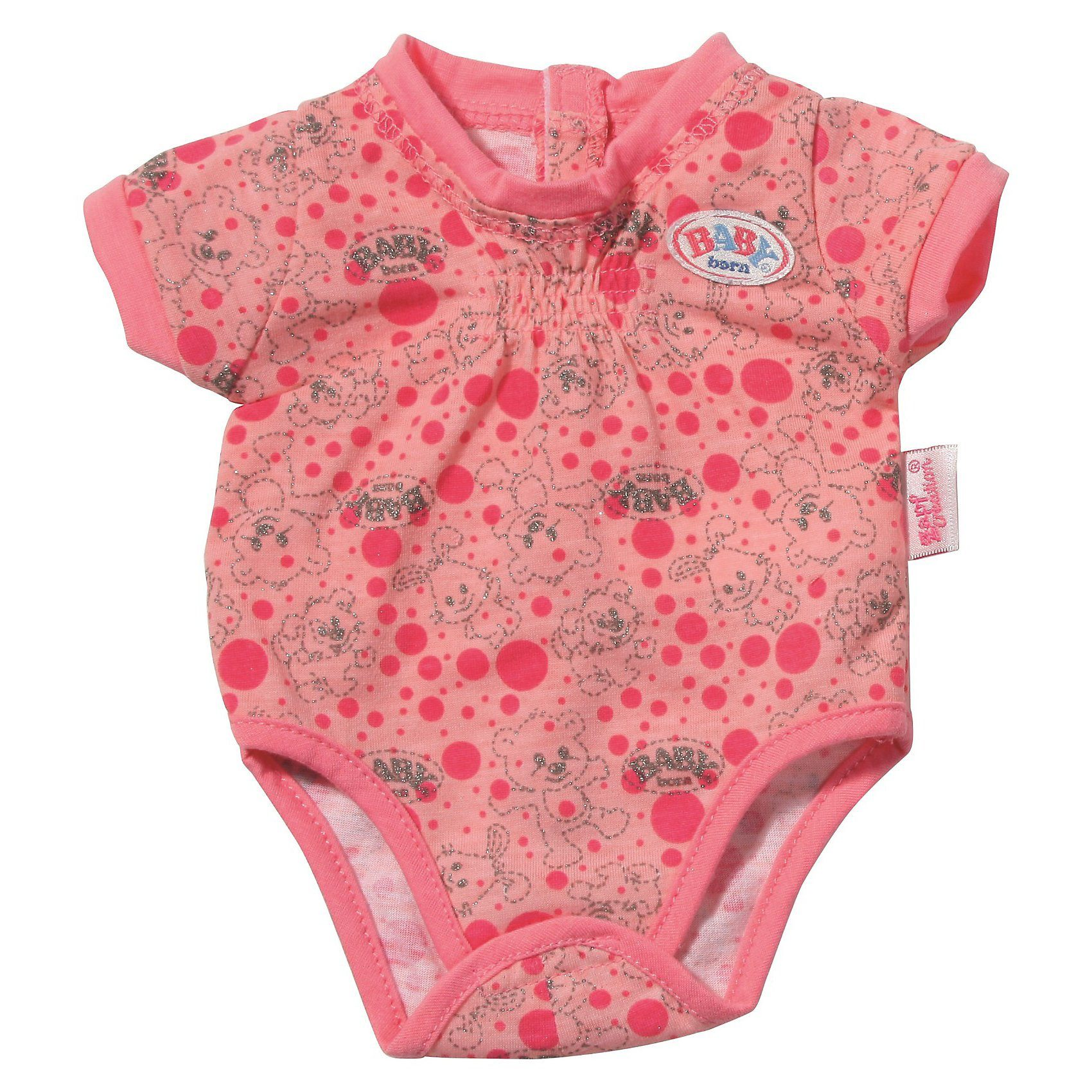 Zapf Creation BABY born® Puppenkleidung Body Collection Rosa, 43 cm