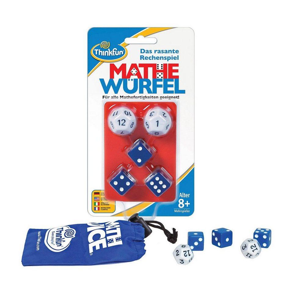 Thinkfun Mathe Würfel - Rechenspiel (deutsch)