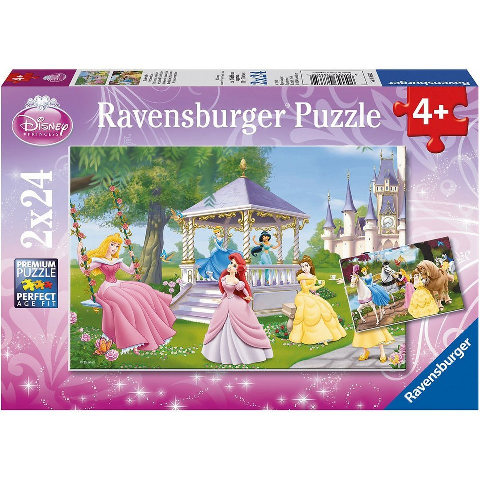 Ravensburger Disney Princess Zauberhafte Prinzessinnen 2 x 24
