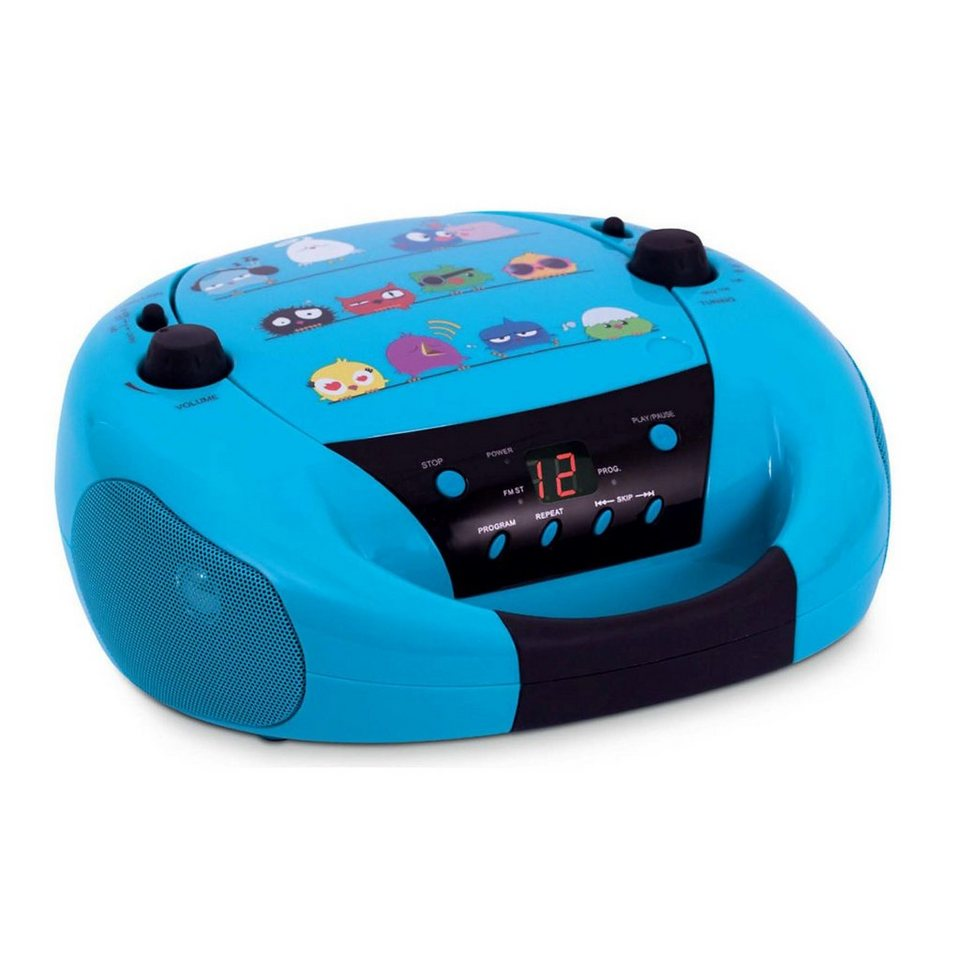 bigben CD-Player mit Radio CD52, Birds