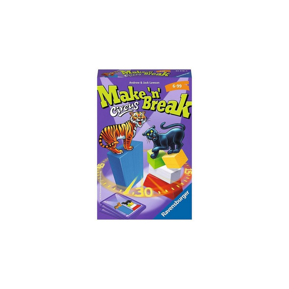 Ravensburger Mitbringspiel Make 'n' Break Circus
