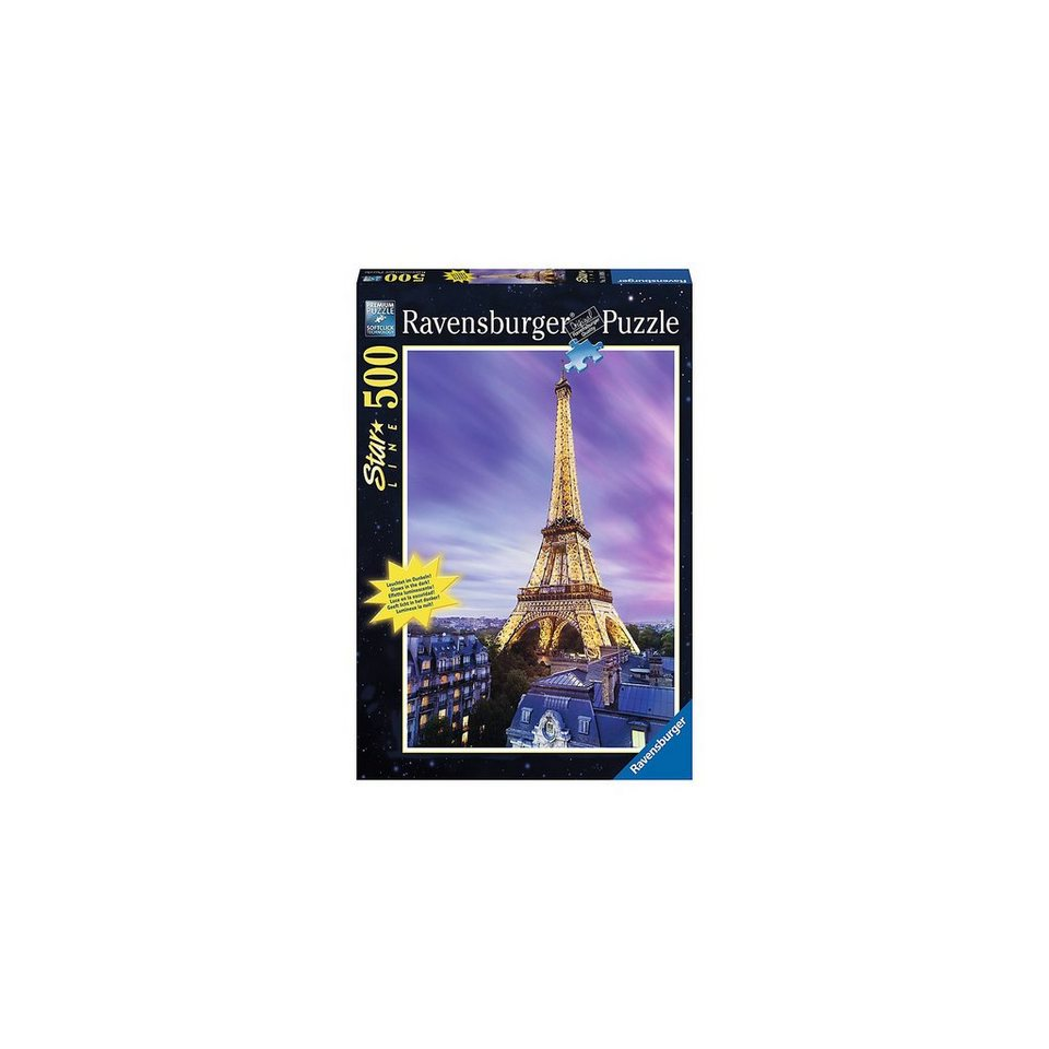Ravensburger Funkelnder Eiffelturm, Starline - 500 Teile
