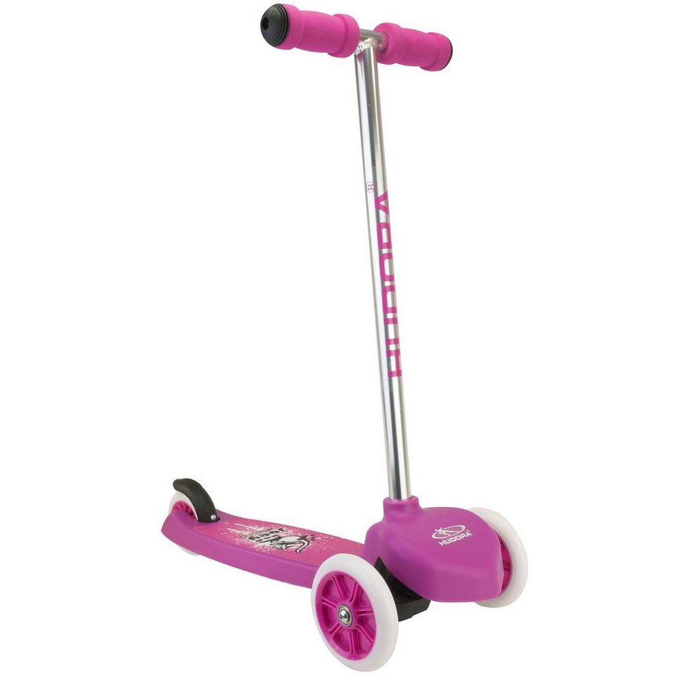 Hudora Mini Scooter T-Bar Pink in pink