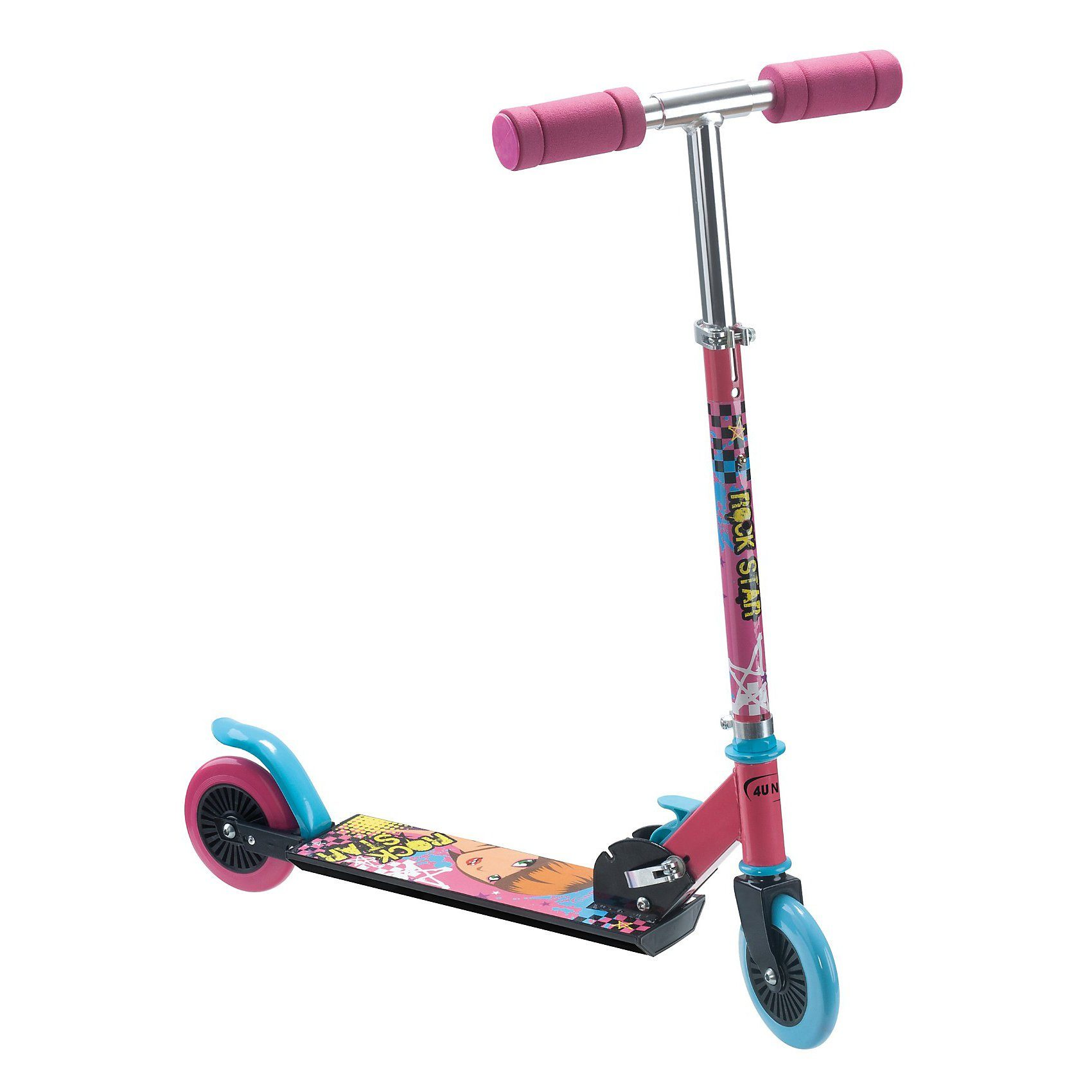 4UNIQ Scooter Jr. 120 XP, pink