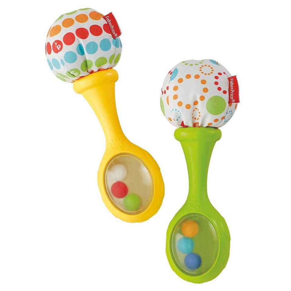 Mattel Fisher-Price - Babys Rumba-Rasseln