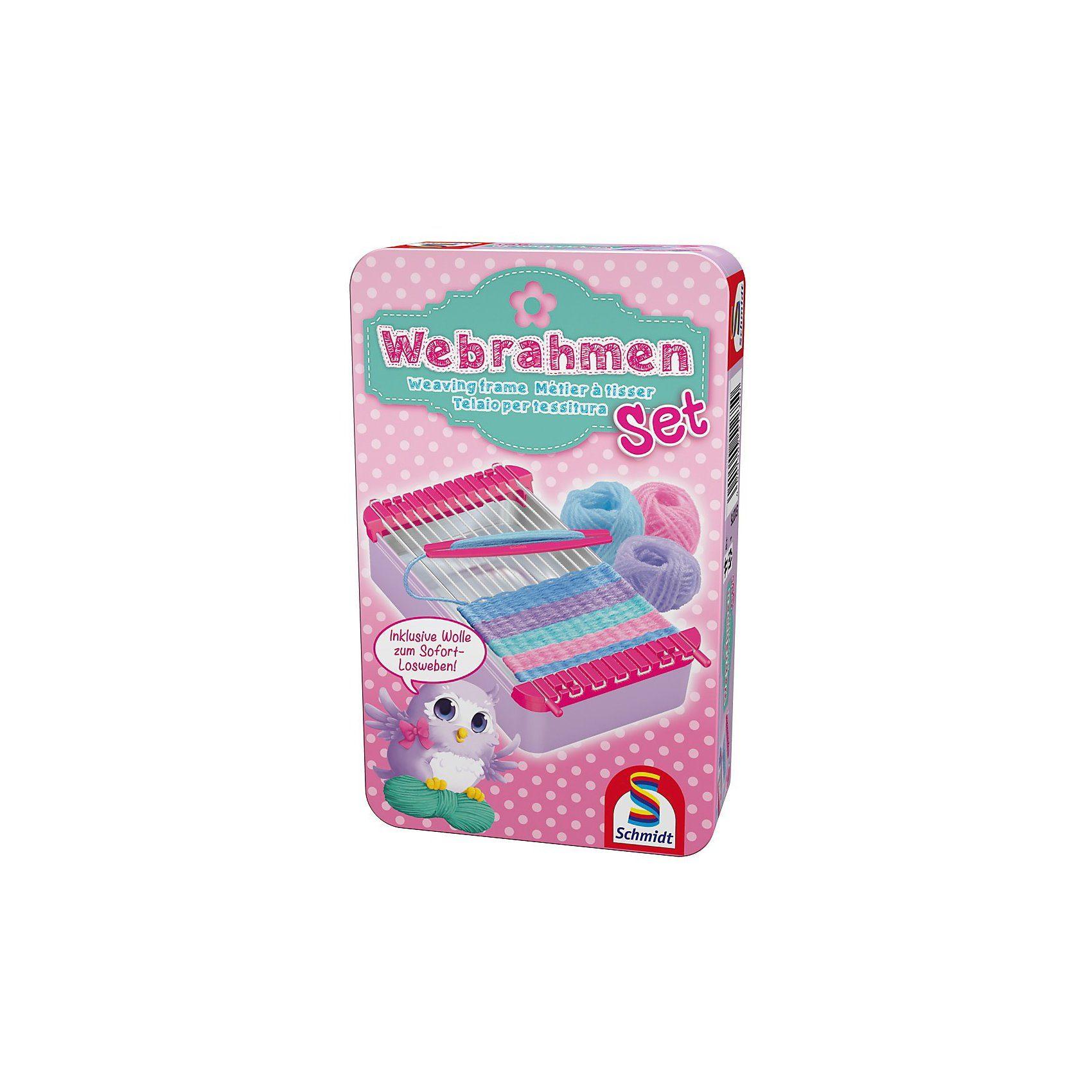 Schmidt Spiele Mitbringspiel Webrahmen-Set
