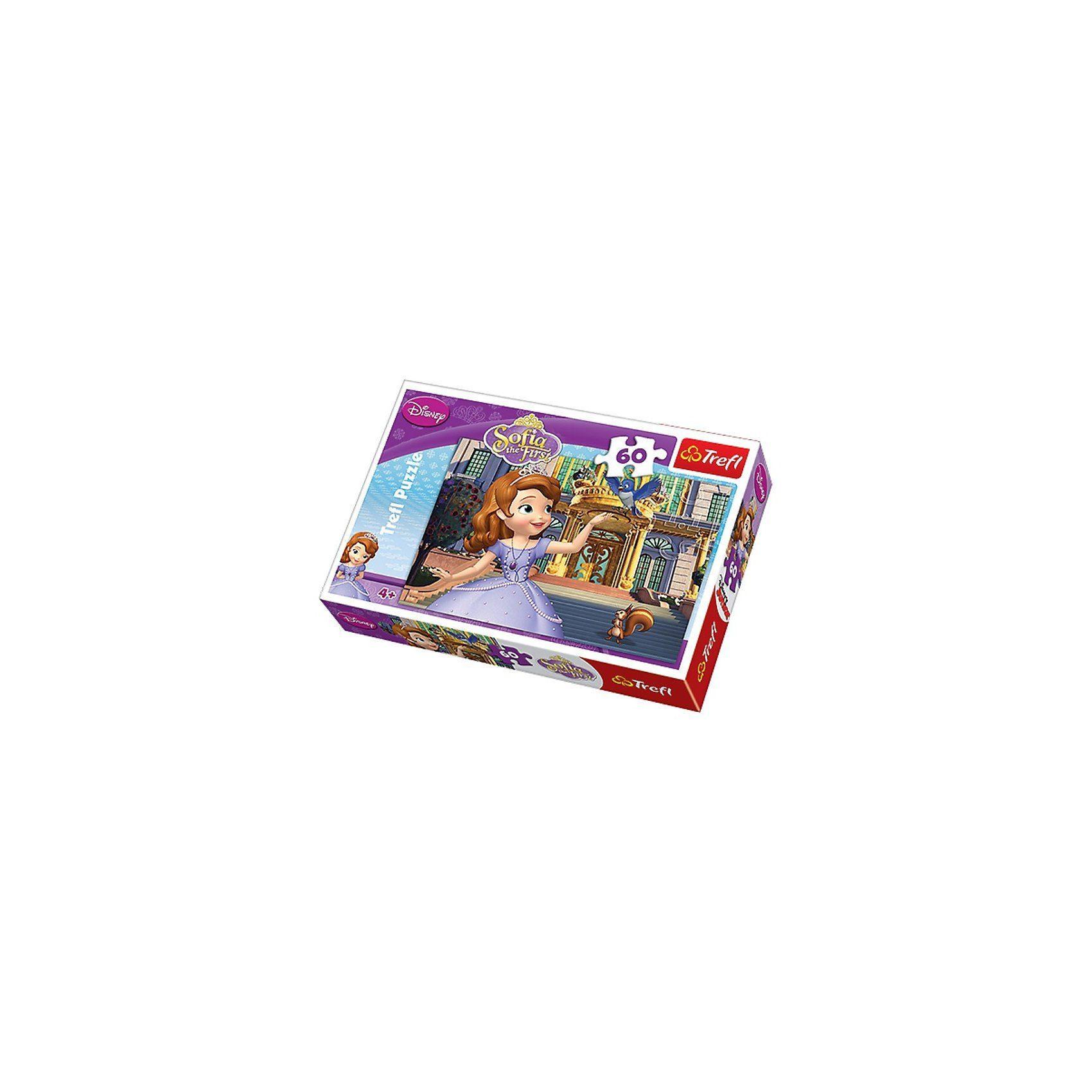Trefl Puzzle 60 Teile - Sofia die Erste
