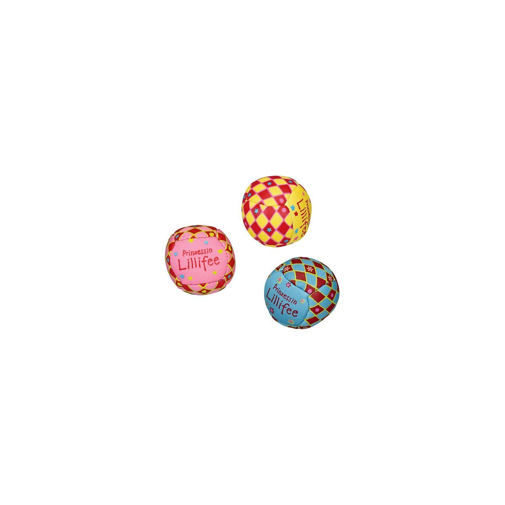 Spiegelburg Neopren Mini-Bälle Prinzessin Lillifee, 3 Stück