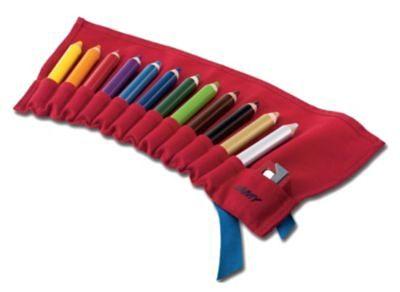 Lamy 3 Plus-Buntstiftrolle inkl. 12 Buntstifte & Anspitzer