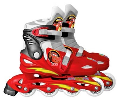 Stamp Cars Inline-Skates Gr. 30-33 in rot