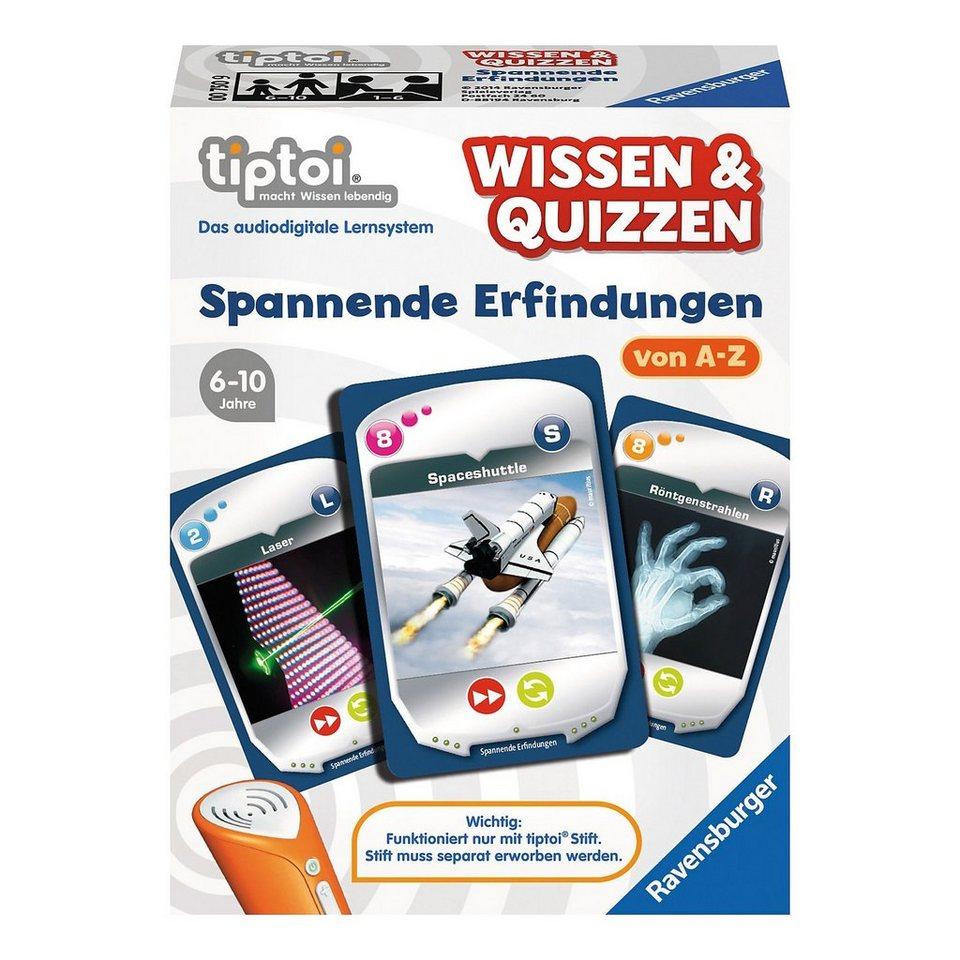 Ravensburger tiptoi® Wissen & Quizzen: Erfindungen (ohne Stift)