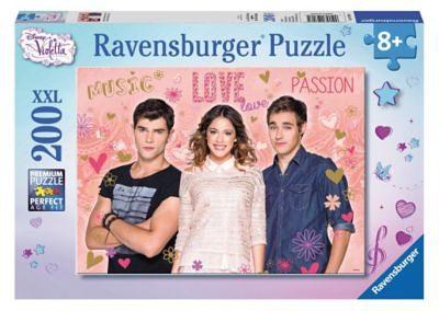 Ravensburger Puzzle Disney Violetta, Tomas & Leon 200 Teile