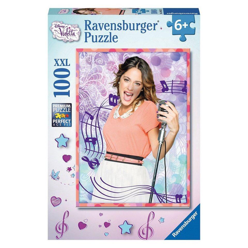 Ravensburger Puzzle Disney Violetta Talentierte Violetta 100 Teile
