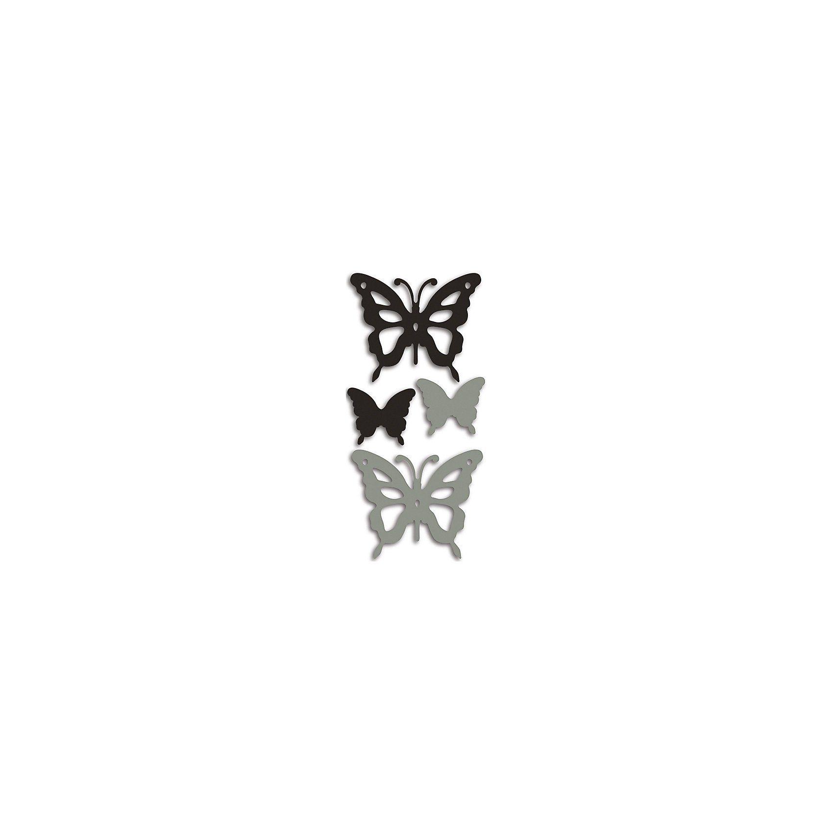 Wandsticker 3D Schmetterling, 4-tlg.