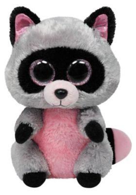 Ty Beanie Boo Waschbär Rocco, 15 cm