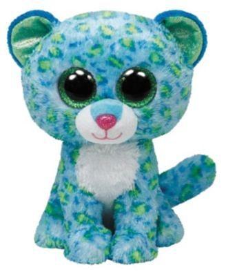 Ty Beanie Boo Leopard Leona, 15cm