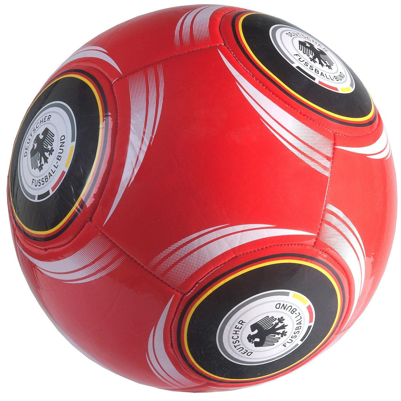 Deutscher Fußball-Bund DFB Fußball Gr. 5, rot