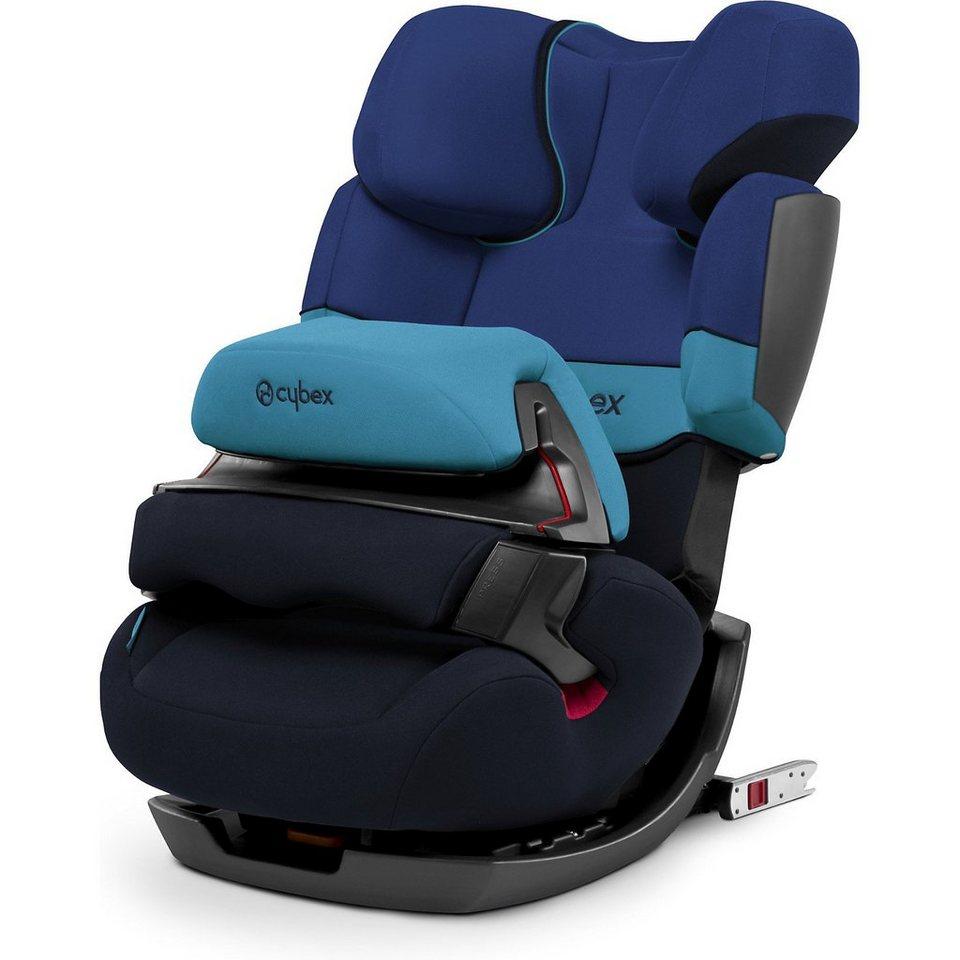 Cybex Auto-Kindersitz Pallas-Fix, Silver-Line, Blue Moon, 2017 in blau