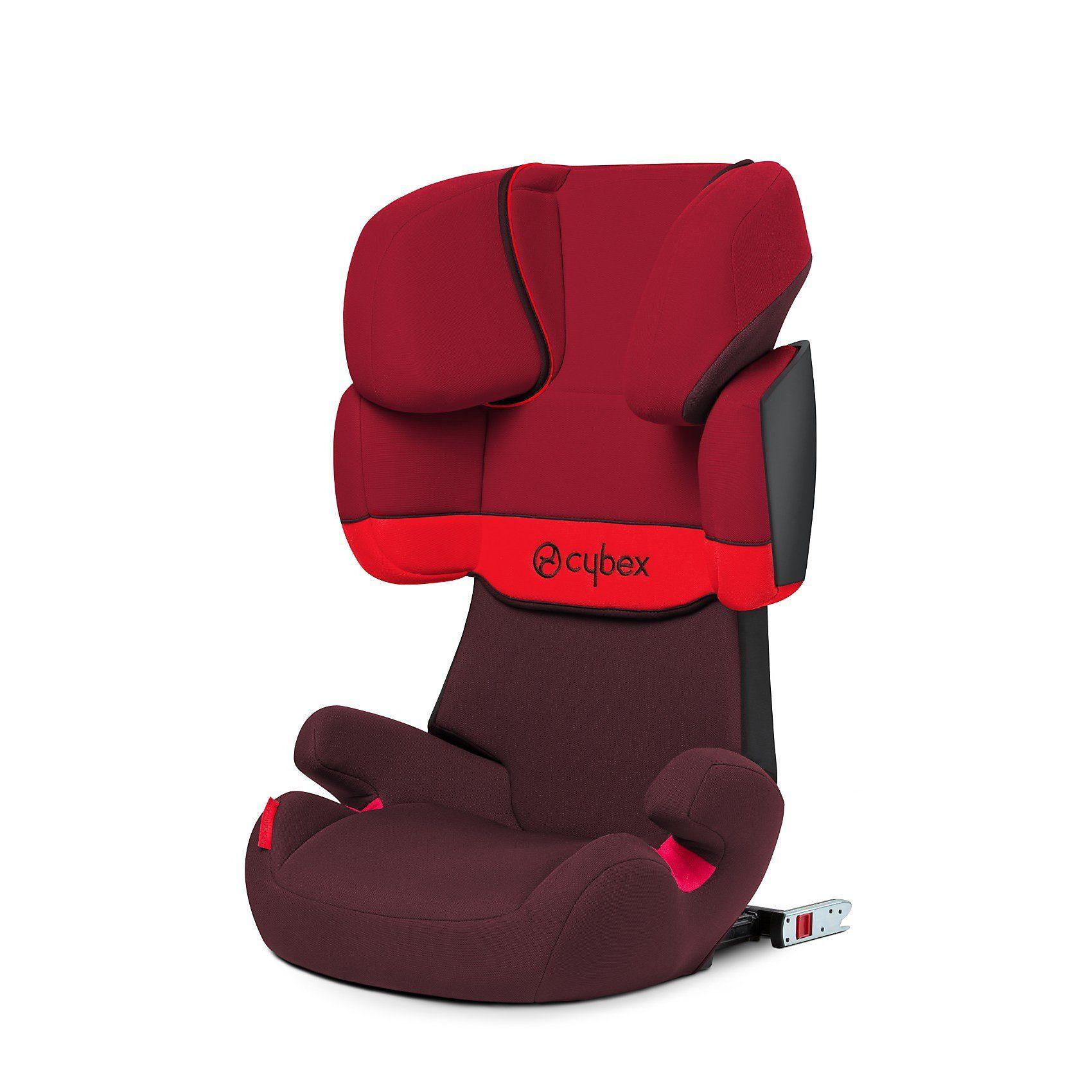 Cybex Auto-Kindersitz Solution X-Fix, Silver-Line, Rumba Red, 2017