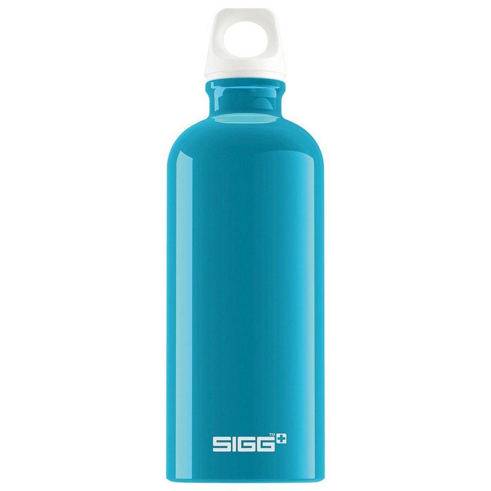 SIGG Alu-Trinkflasche Fabulous Aqua, 600 ml in türkis