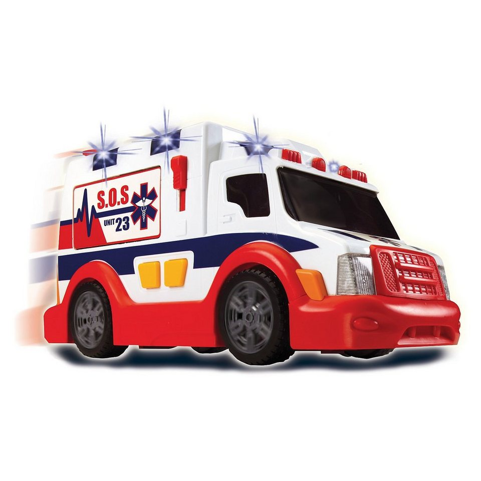 """Dickie Toys """"Ambulance"""" - Ambulanz mit Licht und Sound 37cm"""