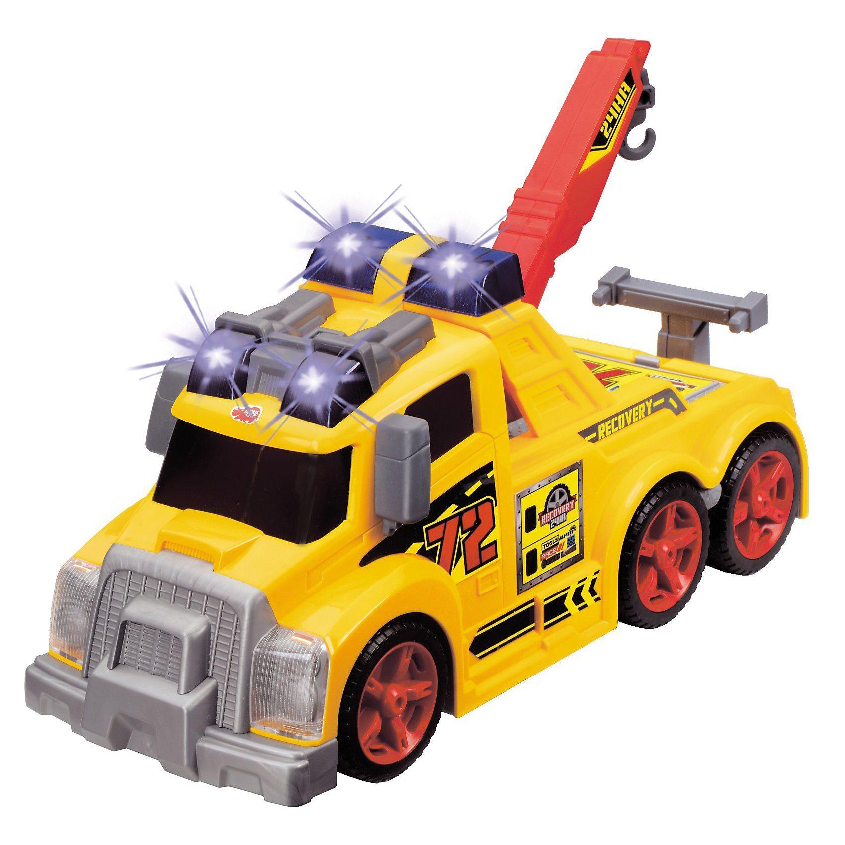 """Dickie Toys """"Tow Truck"""" - Abschlepp LKW mit Licht und Sound 37 cm"""