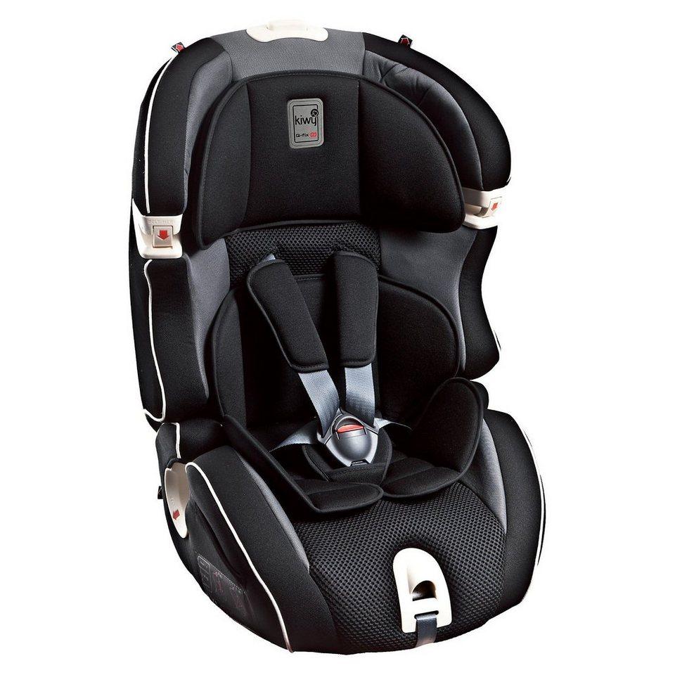 Kiwy Auto-Kindersitz SLF123 Q-Fix, Carbon, 2016 in schwarz