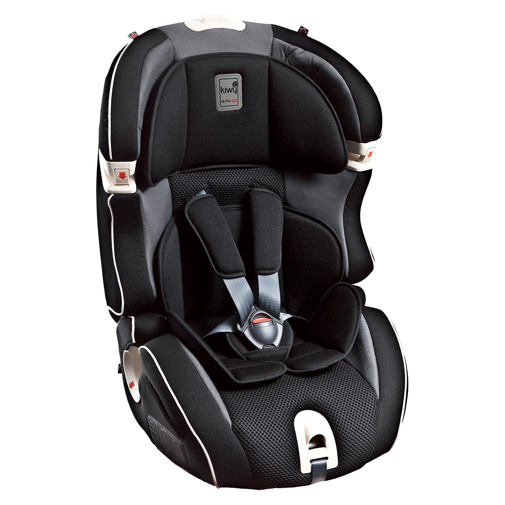 Kiwy Auto-Kindersitz SLF123 Q-Fix, Carbon, 2016