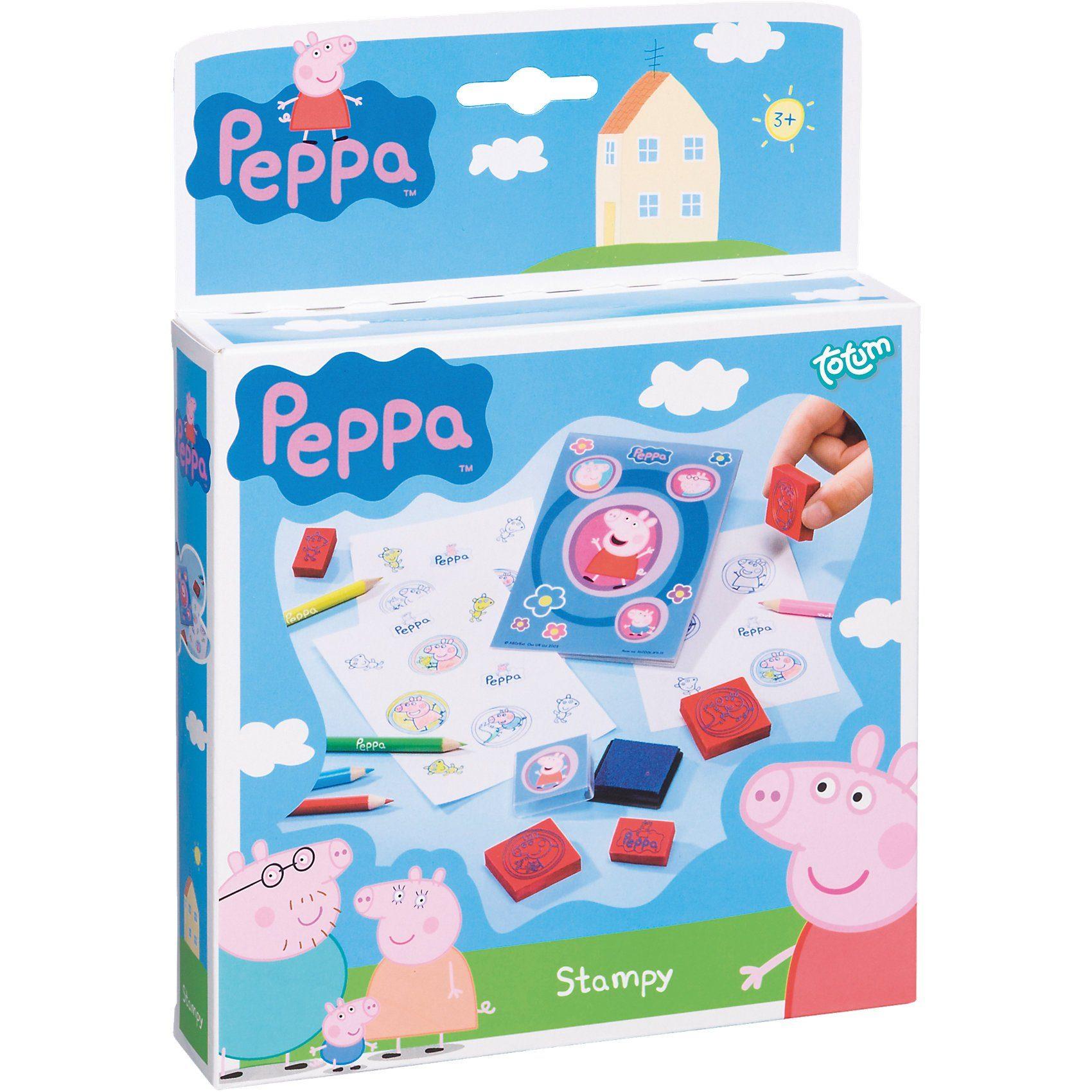 totum Kreativset Stempelset Peppa Pig