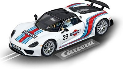 "Carrera EVOLUTION 20027467 Porsche 918 Spyder ""Martini Racing, No.23"