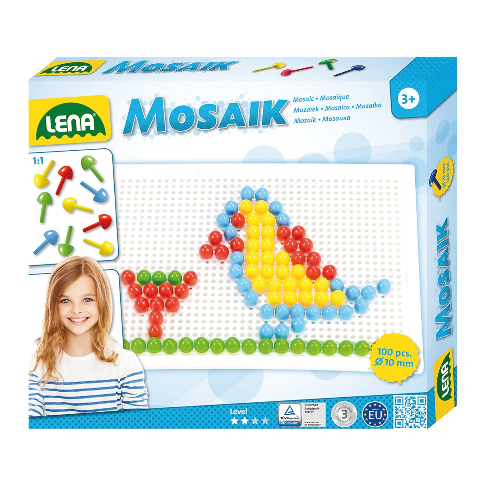 LENA Design Studio Mosaik color, 100-tlg.