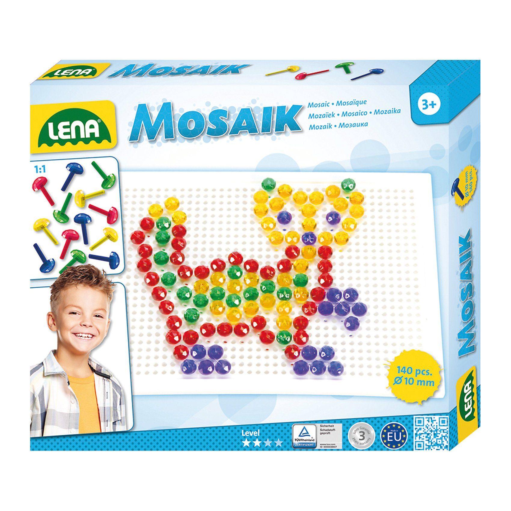 Lena® Design Studio Mosaik Transparent, 141-tlg.