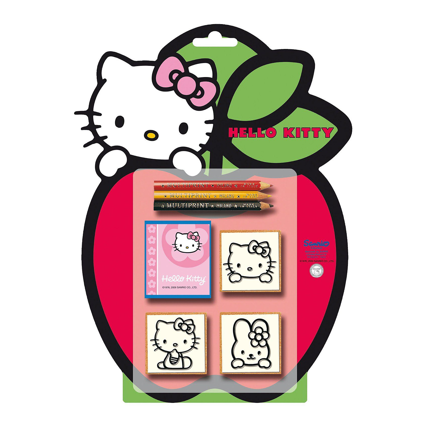 Amigo 3er Stempelset Hello Kitty