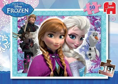 Jumbo Disney Die Eiskönigin Puzzle - 50 Teile