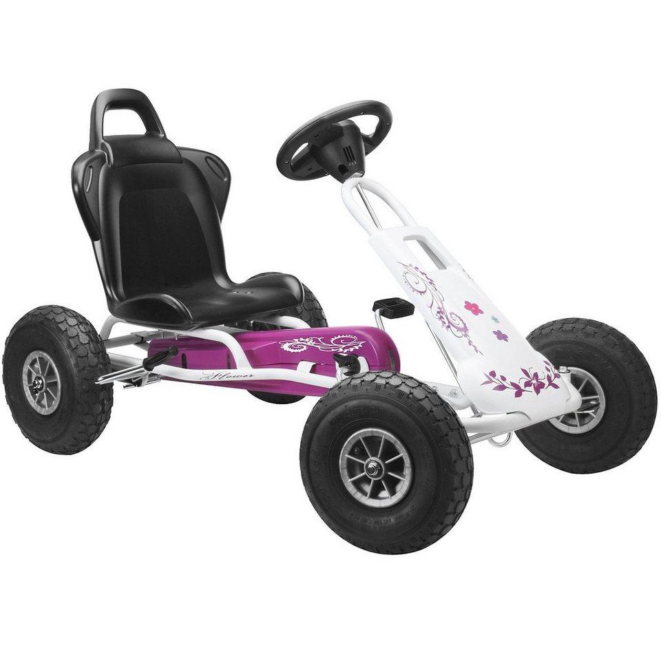 Ferbedo Go-Cart Air Runner, flower in lila