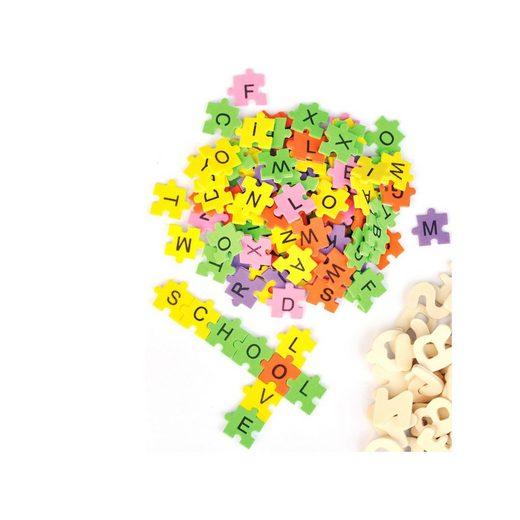 Playbox Moosgummi Puzzle-Buchstaben, 2.000 Stück