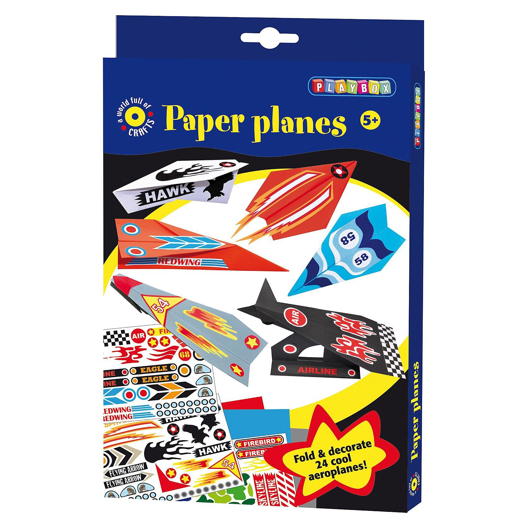 Playbox Kreativset Papierflieger