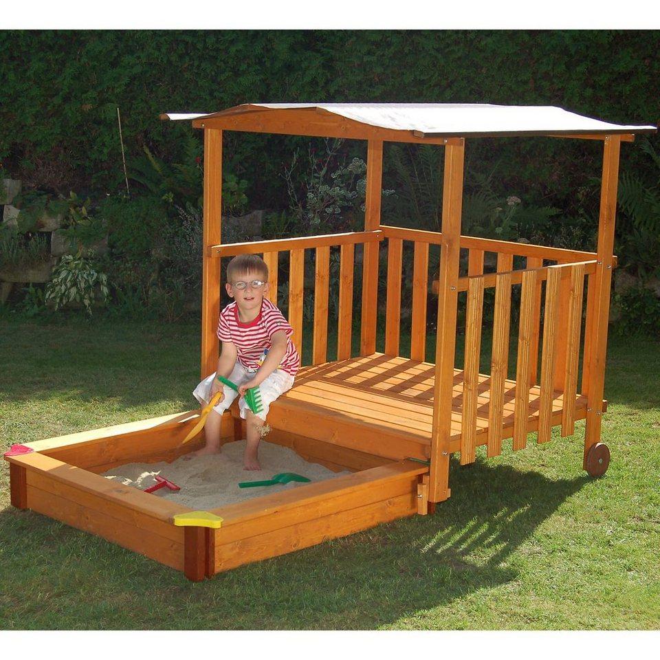gaspo sandkasten villa mit dach online kaufen otto. Black Bedroom Furniture Sets. Home Design Ideas