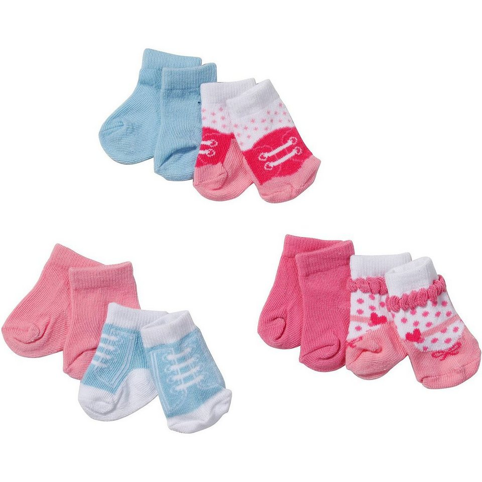 Zapf Creation BABY born® Puppenkleidung Socken, 2 Paar, 43 cm