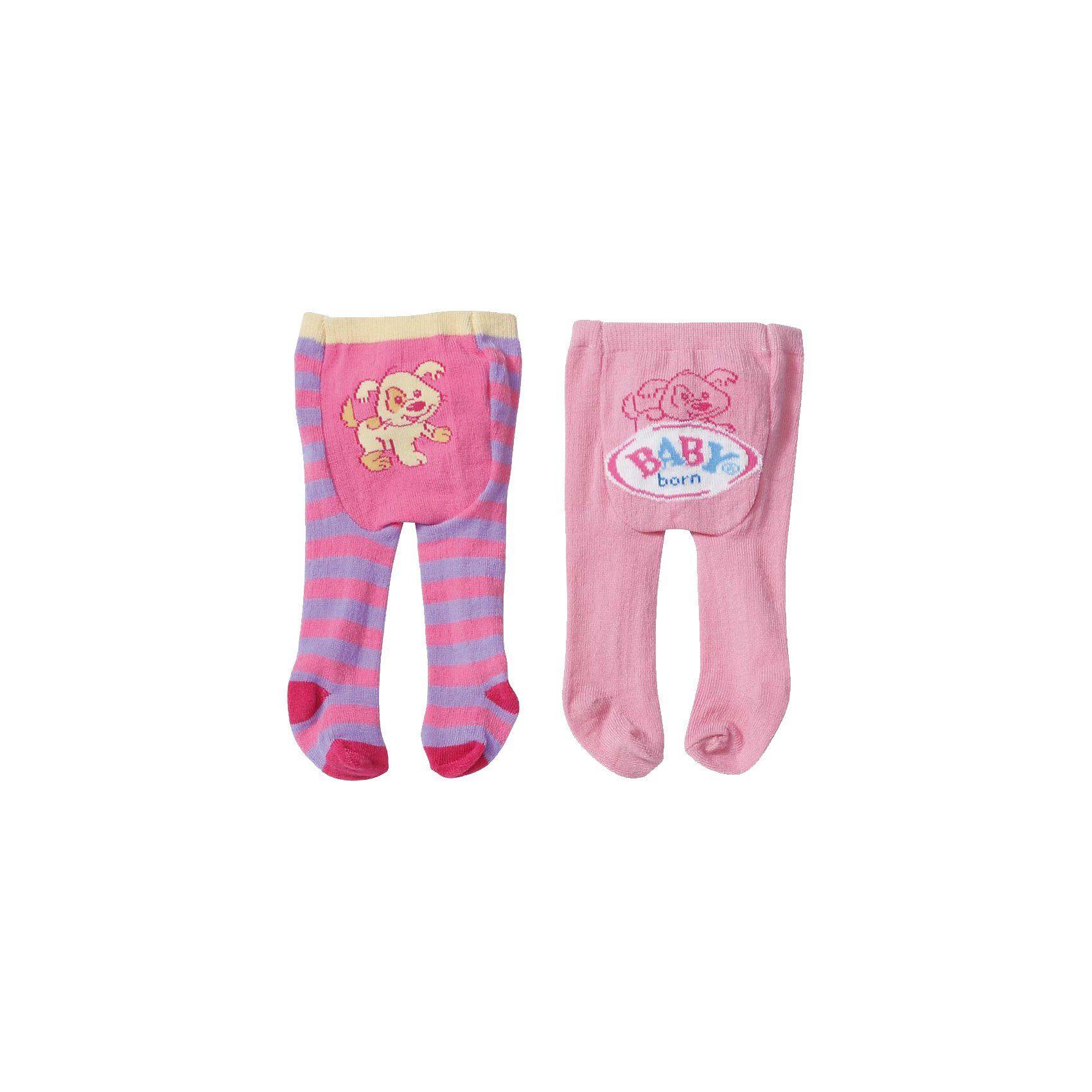 Zapf Creation BABY born® Puppenkleidung Strumpfhosen 2er Pack