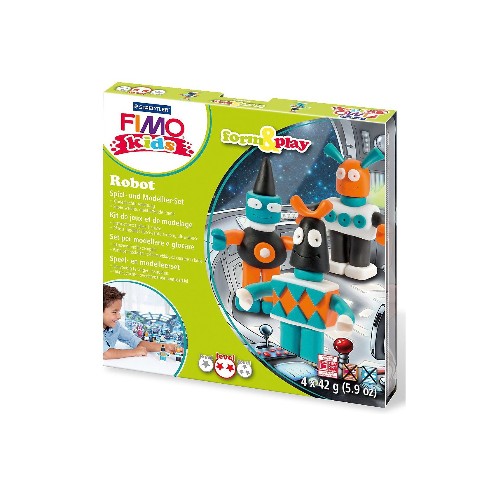 FIMO kids Form & Play Robot