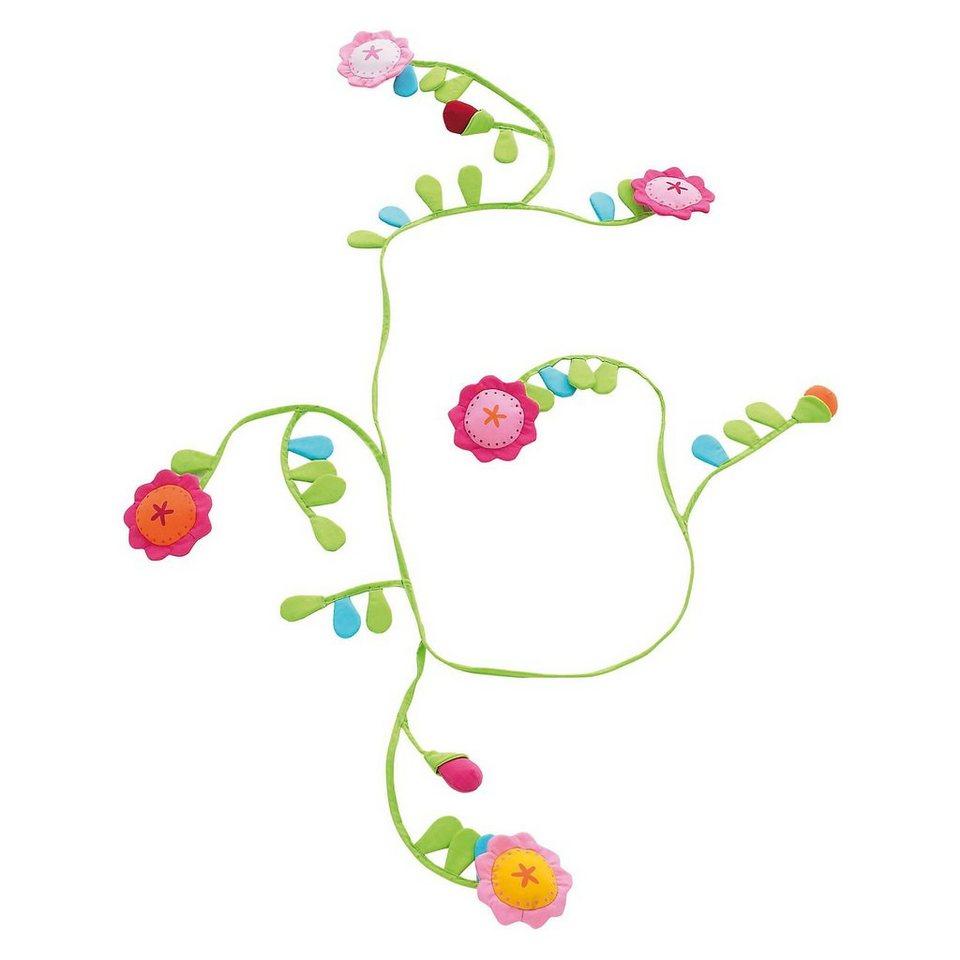 Haba 8140 Stoffgirlande Blumenlaube, 180 cm in grün