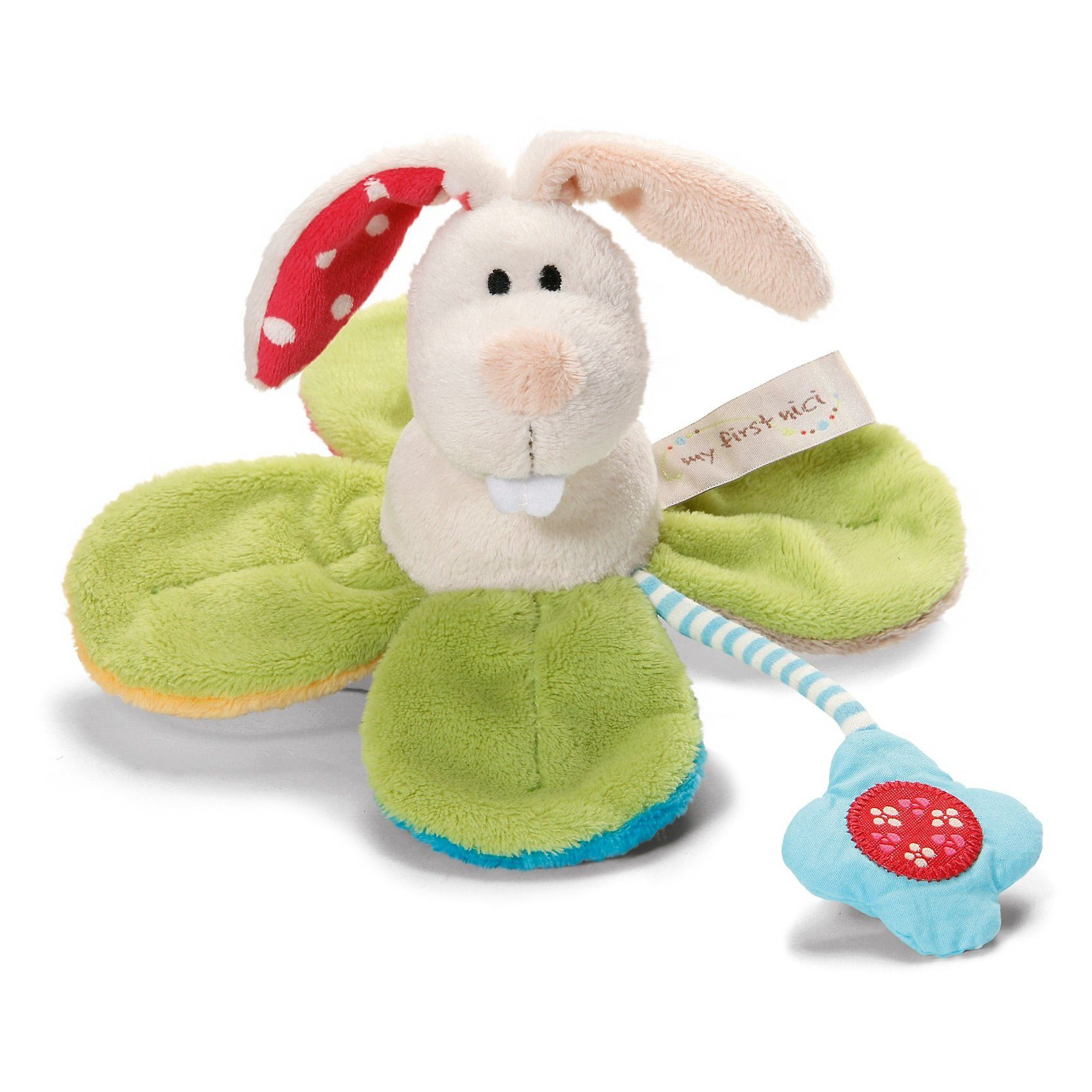 NICI My First 35934 Greifling Hase Tilli in Blume